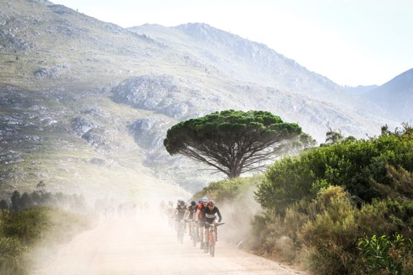 """In 2019 the event becomes a """"tour with timing"""". Allowing those who wish to race the opportunity to do so while still encouraging the majority of the field to slow down and appreciate the beautiful scenery. Photo by Oakpics.com."""