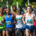 Seen here (far right):  Julien Wanders in action at the inaugural FNB Durban 10K CITYSURFRUN in 2017.  Photo Credit:  Tobias Ginsberg