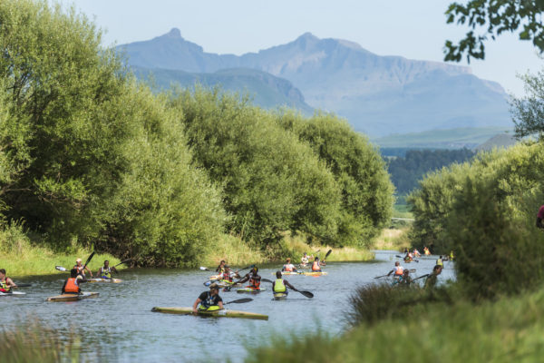 Canyon Kayak Club organisers have plans to expand the popular 'Drak Season' on the uMzimkhulu River in the build-up to the N3TC Drak Challenge, in partnership with FNB, on 19 and 20 January. Anthony Grote/ Gameplan Media