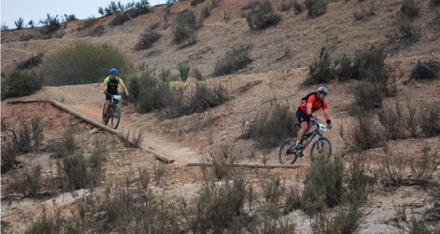 The Kolsvlei Trail Park boasts a 25km mountain bike loop of purpose built singletrack and farm jeep tracks, which riders will need to complete 4 times in order to qualify for the 100KM Challenge finisher's medal. Photo supplied by the Kolsvlei Trail Park.