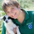 Tara Hoffman, Cape of Good Hope SPCA Animal Care Assistant.  Photo Credit:  Tamed and Framed