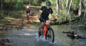 Raymond Travers in action at the 2018 FNB Magalies Monster MTB Classic.  Photo Credit:  Jetline Action Photo