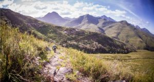 The Discovery MUT features 60km, 25km and 9km route options; all of which explore the spectacular Outeniqua Mountains above the Southern Cape town of George. Photo by Jacques Marais.