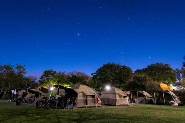 The race village at the Zuurberg Mountain Inn boasts four star accommodation in the hotel and luxury camping in canvas dome tents. Photo by Shayne Minott.