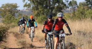 Good rainfall in the area will ensure a typical bushveld experience when the Liberty Waterberg Encounter mountain-bike race takes place near Bela-Bela in Limpopo from June 7 to 9. Photo: Gerrie Kriel/Twin Productions SA