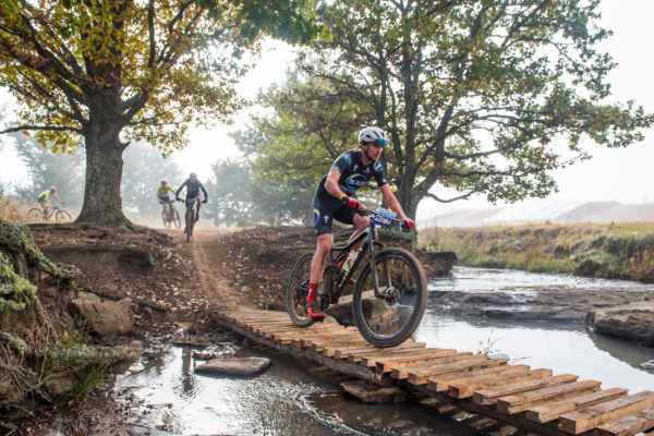 NAD Pro MTB Team's Matt Beers (front) will line up for the 2019 KAP sani2c with accomplished cross country rider Stuart Marais for the showdown from 16-18 May. Anthony Grote/ Gameplan Media