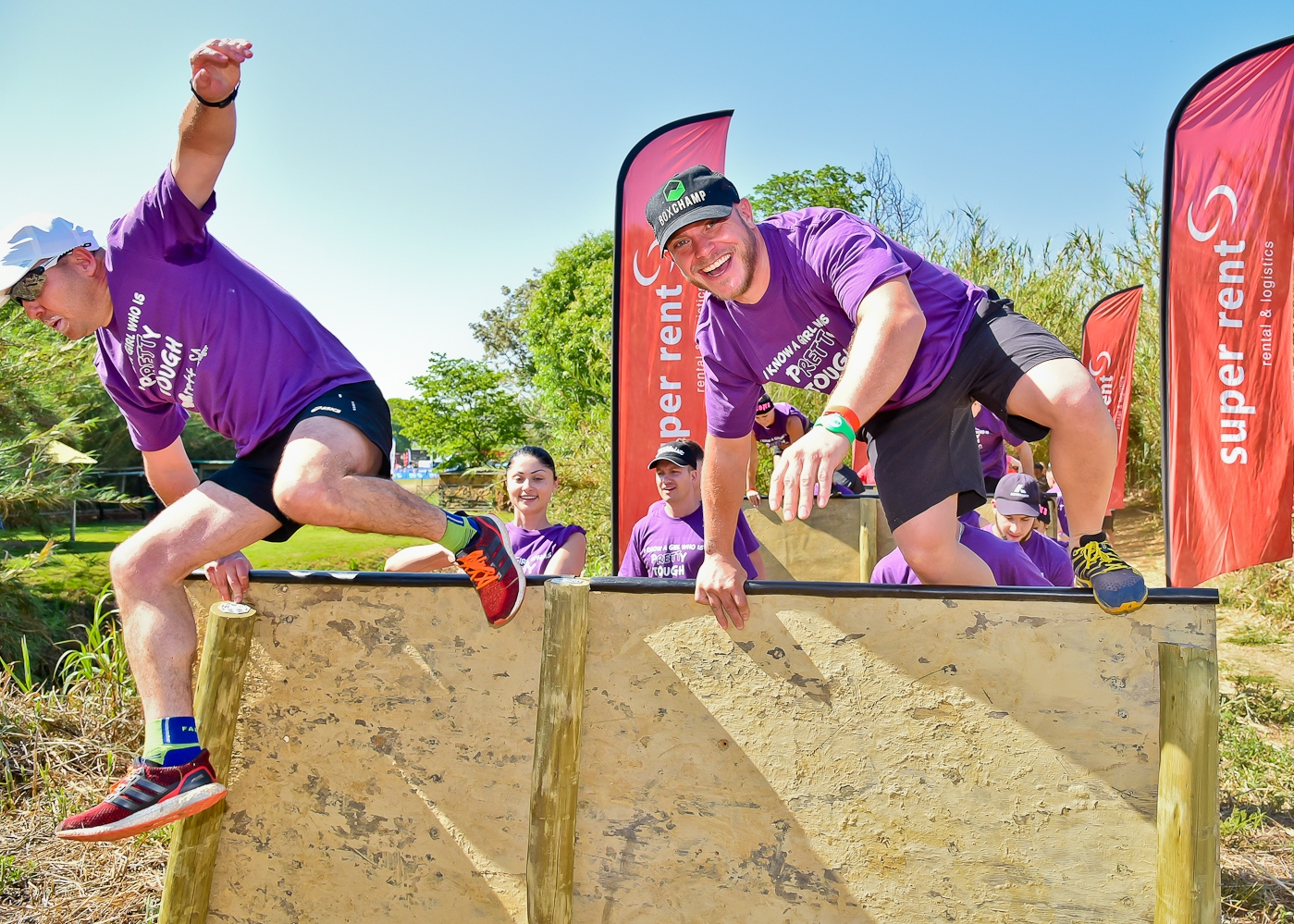 Adventure seekers overcoming obstacles at the IMPI Challenge.  Photo Credit:  Kyle Cestari