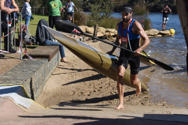 New Zealand surfski and marathon star Andrew Mowlem will join forces with Western Cape star Anders Hart for the 2019 Berg River Canoe Marathon from 3 to 6 July. Supplied/ Gameplan Media