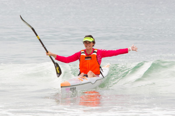 """""""There is a big field of women entered for the Bamboo Warehouse Push And Pull Paddle- way, way more than we ever see at races in the Western Cape,"""" pointed out Kim Van Gysen. John Hishin/ Gameplan Media"""