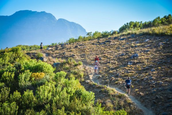Forming part of the Origin Of Trails MTB Experience, entries are now open for the 2nd annual Origin Of Trails Trail Run that will take place in Stellenbosch on Sunday, 01 December 2019.  Seen here:  Trail running enthusiasts enjoying the action of the inaugural Origin Of Trails Trail Run in 2018.  Photo Credit:  Philip Fyer