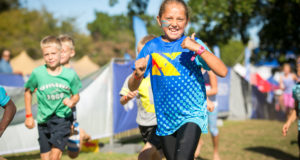 A very happy Mika du Plessis enjoying being outdoors at the IMPI Challenge.  Photo Credit:  Mark Sampson
