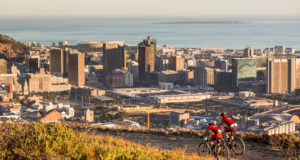 The Mother City, Cape Town, once again hosts the Prologue of the Absa Cape Epic on the slopes of Table Mountain. Photo by Sam Clark/Cape Epic/SPORTZPICS.