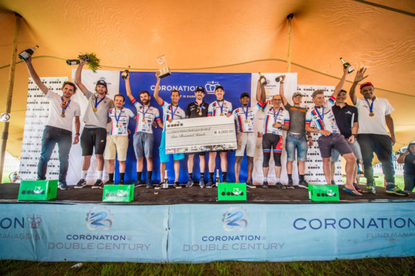 The Active Bodies team secured their third consecutive Coronation Double Century title by team time trialling to victory in the 2019 race. Photo by Tobias Ginsberg/Volume Photography.