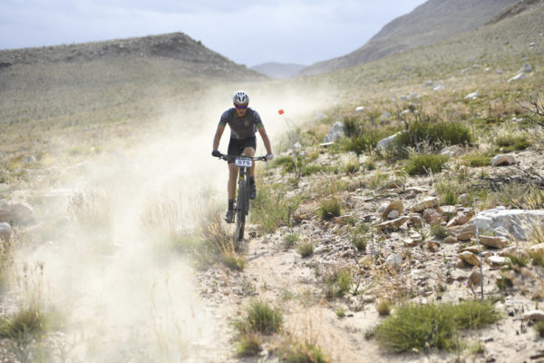 The rugged Attakwaskloof, inaccessible to mountain bikers outside of the Momentum Health Attakwas Extreme, presented by Biogen, helps provide the challenging route which gives the race its Hell of the South nickname. Photo by ZC Marketing Consulting.
