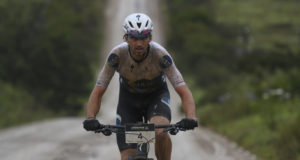 Matt Beers soloed to victory by attacking with just over 30 kilometres left to race. Photo by ZC Marketing Consulting.