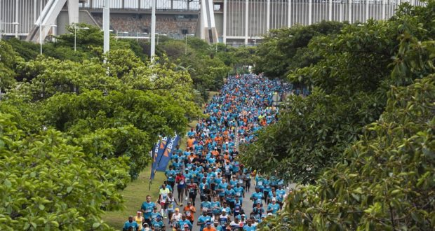Runners in action during the 2019 FNB Durban 10K CITYSURFRUN.  Photo Credit:  Anthony Grote