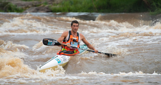 Nine-time champion of the Dusi Canoe Marathon Andy Birkett has been supported by Euro Steel as has the race for a number of years and once again the steel company has recommitted themselves to the 2020 Dusi Canoe Marathon from 27-29 February. Anthony Grote/ Gameplan Media