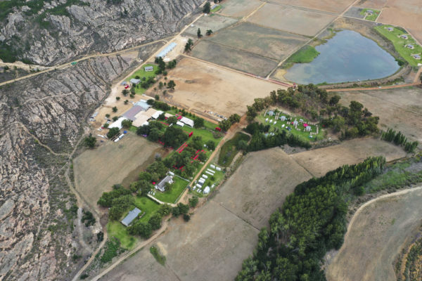 Kaleo Manor provides a spectacular race village setting. Photo by ZC Marketing Consulting.