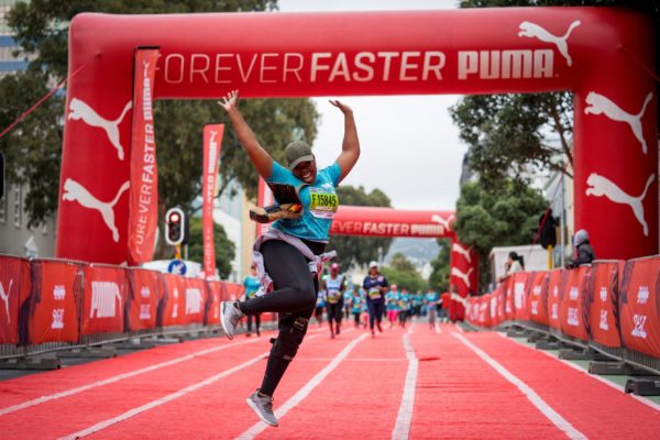 The Organisers of the FNB Run Your City Series (RYCS) together with PUMA South Africa are excited to launch the Friday 5K Solo Run campaign.  Consisting of five 5km virtual runs, the Friday 5K Solo Run Series powered by PUMA will take place weekly from Friday 21 August 2020 until Friday 18 September 2020.  Seen here:  Runners in action during the PUMA Beat Bolt Sprint, an iconic section on the FNB Run Your City Series Route.  Photo Credit:  Mark Sampson